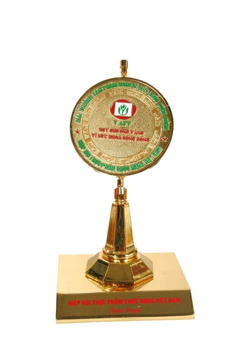 BoniKiddy - Giải thưởng sản phẩm vàng vì sức khỏe cộng đồng năm 2017